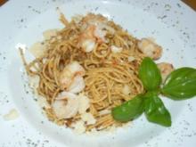 Spaghetti mit Pesto und... mal ganz anders - Rezept