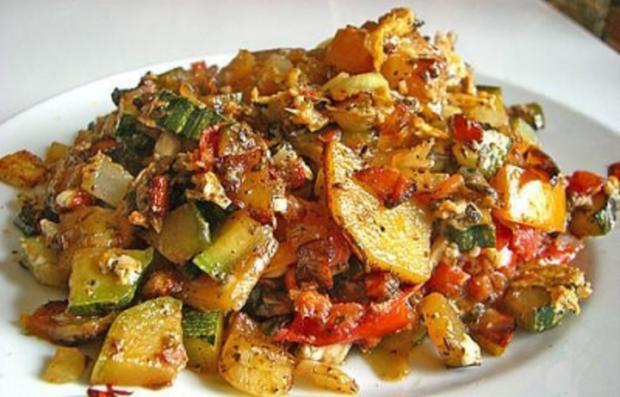 Mediterrane Bratkartoffeln - Rezept - Bild Nr. 2
