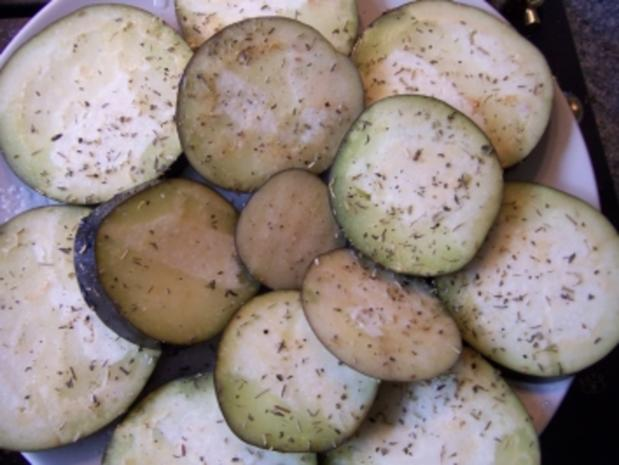 gegrillte Aubergine - Rezept