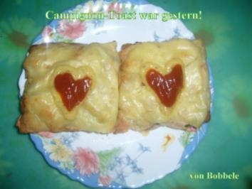 Rezept: Zwischenmahlzeit: Champignon-Toast war gestern!