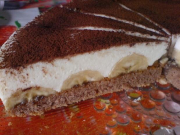 Schoko-Bananen-Torte - Rezept - Bild Nr. 2