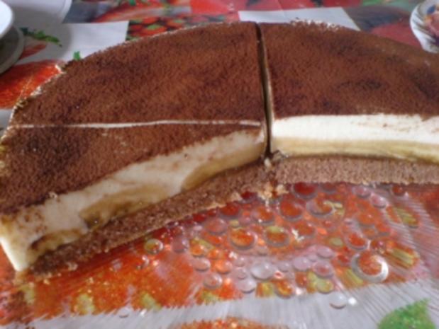 Schoko-Bananen-Torte - Rezept - Bild Nr. 21