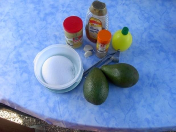 Avokado - Senf - Creme - Rezept - Bild Nr. 2