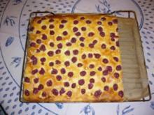 Kirsch-Nuss-Kuchen - Rezept
