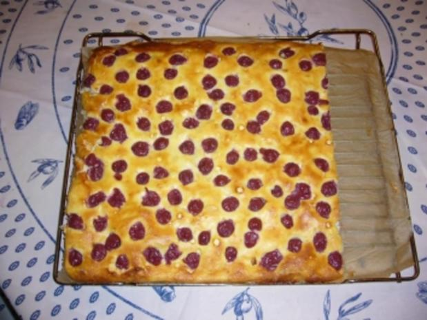 Kirsch Nuss Kuchen Rezept Mit Bild Kochbar De