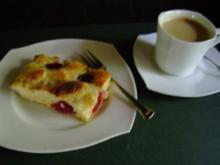 Kuchen: Pflaumenkuchen mit Zimt Schmand - Rezept