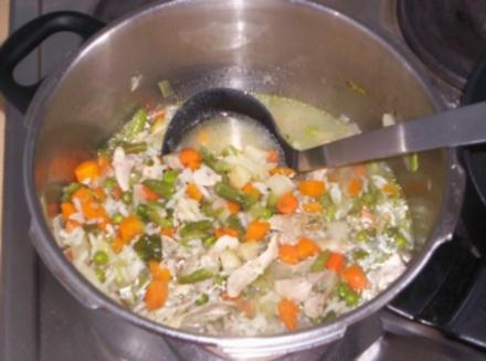 Gemüse suppe - Rezept
