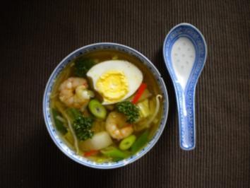 Chinesisches Süppchen mit Ei - Rezept