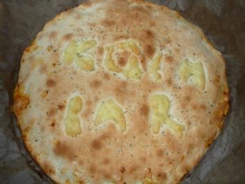 Foccacia mit dreierlei Käse - Rezept