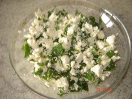 Käse Füllung für Teigtaschen - Rezept