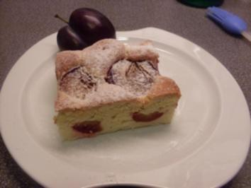Zwetschgenkuchen mit Dinkelmehl - Rezept
