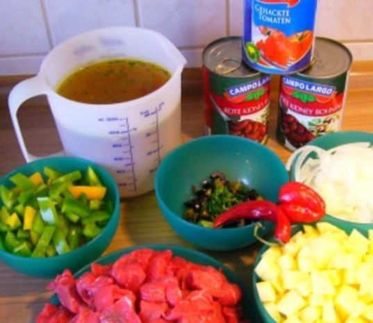 Suppe --- Scharfe Pfeffersuppe - Rezept - Bild Nr. 2