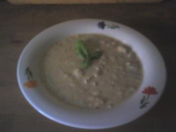 Suppenküche: Zucchinisuppe nach Art der Lauch-Creme-Suppe - Rezept