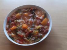 Paprika Reis Suppe - Rezept