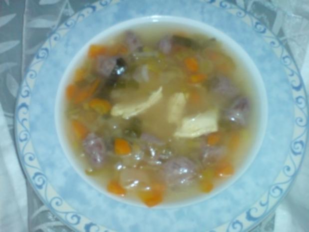 Hühnersuppe - Rezept