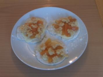 Obst-Pudding-Taler - Rezept