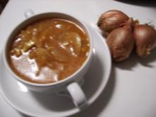 Zwiebelsuppe Bordelaise - Rezept