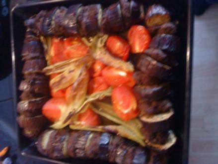 Patlican Kebab mit Sumakzwiebeln (super einfache art und Lecker - Rezept