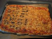 Mega Pizza - Rezept