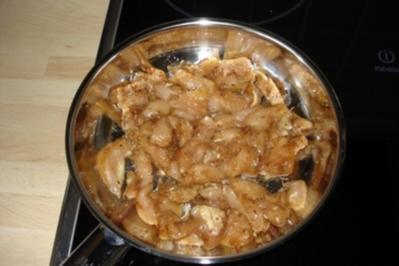 Das Huhn auf der Tomate - Rezept