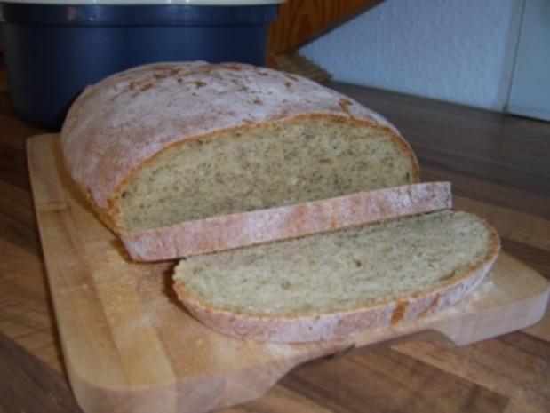 Hüttenkäse-Brot (auch für BBA) - Rezept