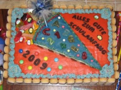 Elkes-Schulanfangstorte - Rezept - Bild Nr. 2