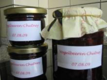 Vogelbeeren-Chutney (Ebereschendoldenbeeren-Chutney) - Rezept