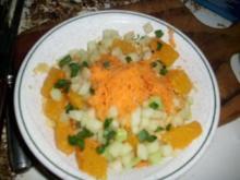 Orangen- Möhren-Couscous - Rezept