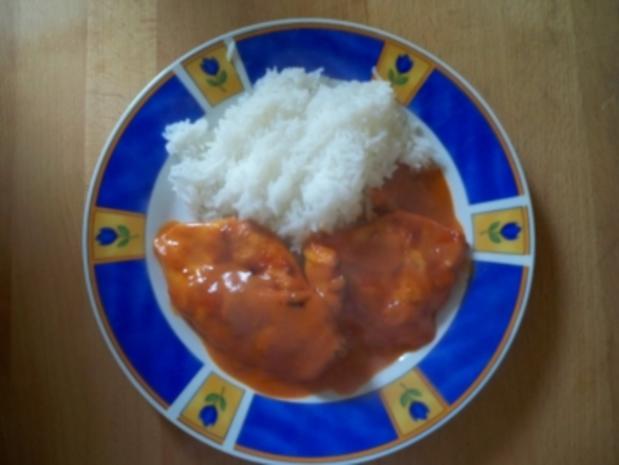 Chili-Sahne-Hühnchen - Rezept