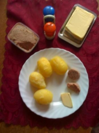 Pellkartoffeln mit Leberwurst - Rezept - Bild Nr. 2