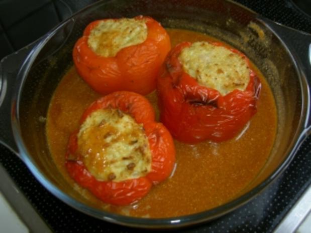 Hauptgericht  -  gefüllte Paprika - Rezept - Bild Nr. 2