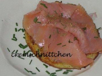 Rezept: Kartoffelpuffer mit Lachs