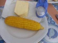 Gekochte Maiskolben / Kukerutz - Rezept