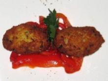 Frittierte Bällchen aus Stockfisch und Kartoffeln - Rezept