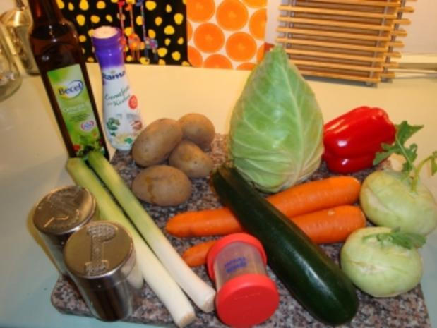 Bunter Gemüseauflauf - Rezept - Bild Nr. 2