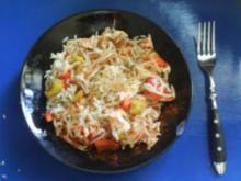 Reis, Soja und Fisch - Rezept