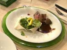 Rehrücken an Mango-Spinat-Salat (Thomas Anders) - Rezept