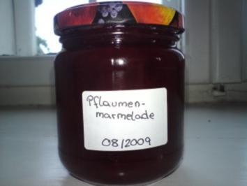 Rezept: Zwetschkenmarmelade