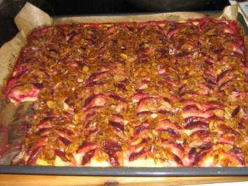 Rezept: Zwetschgen-Blech-Kuchen