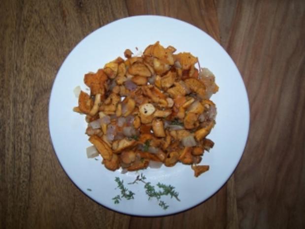 Pfifferling-Tellerchen - Rezept