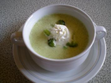 Broccoli Kartoffel Creme Suppe - Rezept