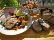 Karibischer Schweinebraten mit Mango Salsa - Rezept