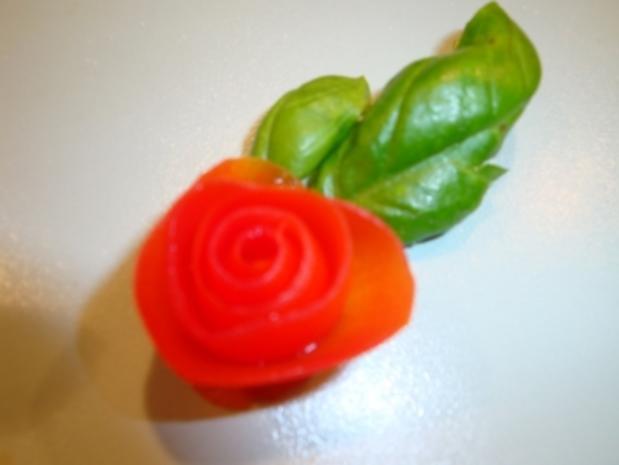 Tomaten Rosen - Rezept - Bild Nr. 5