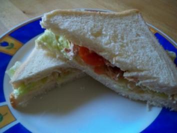 Thuna-Sandwich - Rezept