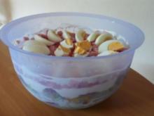 Über-Nacht-Salat (Schichtsalat) - Rezept
