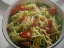 Zucchini - Salat - Rezept