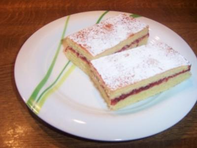 Gefüllter Blitzkuchen - Rezept