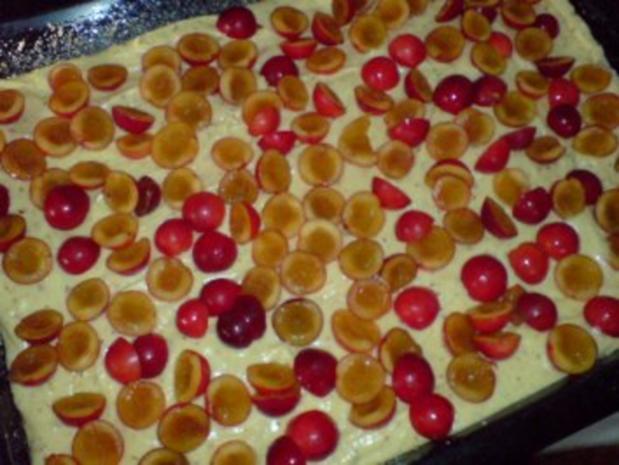 Kuchen - Resteverwertung Mirabellen - Rezept - Bild Nr. 5