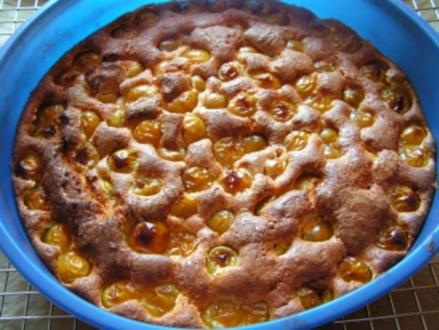 Schneller Kuchen mit Mirabellen - Rezept