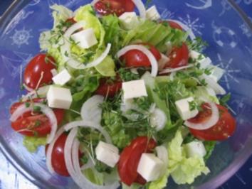 Frischer Sommersalat ... - Rezept